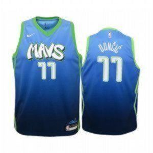 Youth Dallas Mavericks Luka Doncic City #77 Jersey